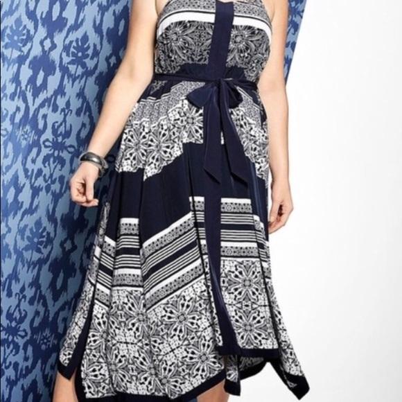 Lane Bryant Dresses & Skirts - Lane Bryant Printed Handkerchief Dress